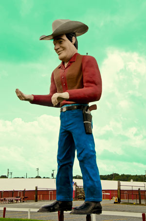 Cowtown Rodeo Muffler Man