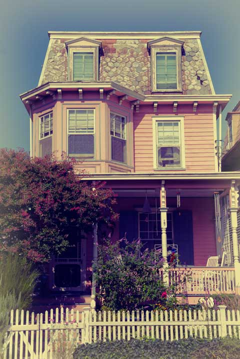 Pink Victorian Painted Lady Cape May