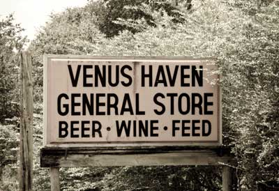 Venus FL General Store Sign
