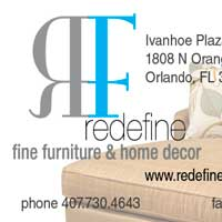 Redefine Furniture Business Card