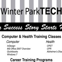 Ad for Winter Park Tech