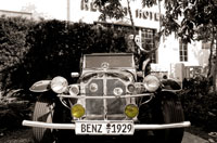 1929 Mercedes, South Beach, Miami