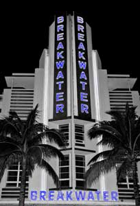 Breakwater Hotel, South Beach, Miami