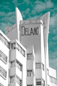 Delano Hotel, South Beach, Miami