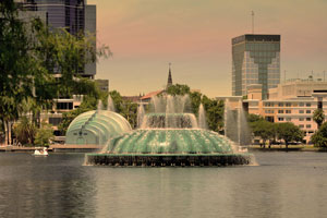 Lake Eola Fountain, Orlando FL