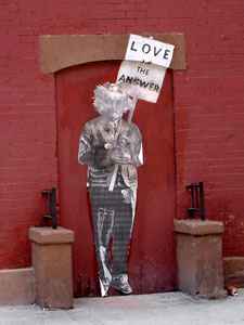Mr Brainwash Banksy Einstein NYC