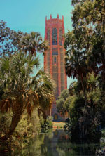 Bok Tower Reflecting Pool View, Lake Wales FL
