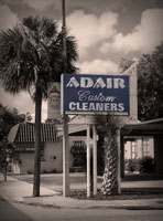Retro Adair Dry Cleaners Sign College Park Orlando